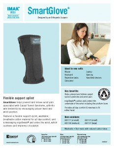 carpal tunnel glove sellsheet
